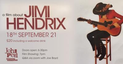 A Film About Jimi Hendrix @ John Peel Centre